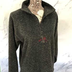 Victoria's Secret Country Floral Pullover Fleece